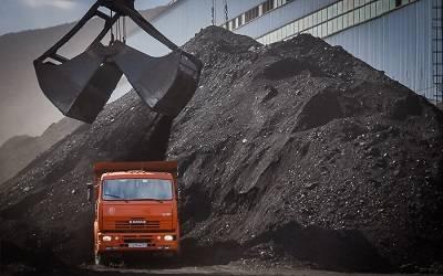 погрузка угля в камаз