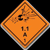 1 класс опасных грузов