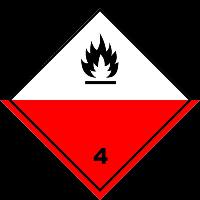 4 класс опасных грузов
